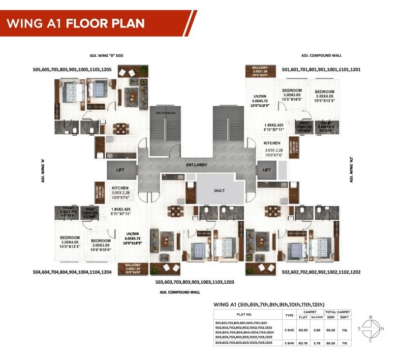 Palaash-A1 floor plan 2