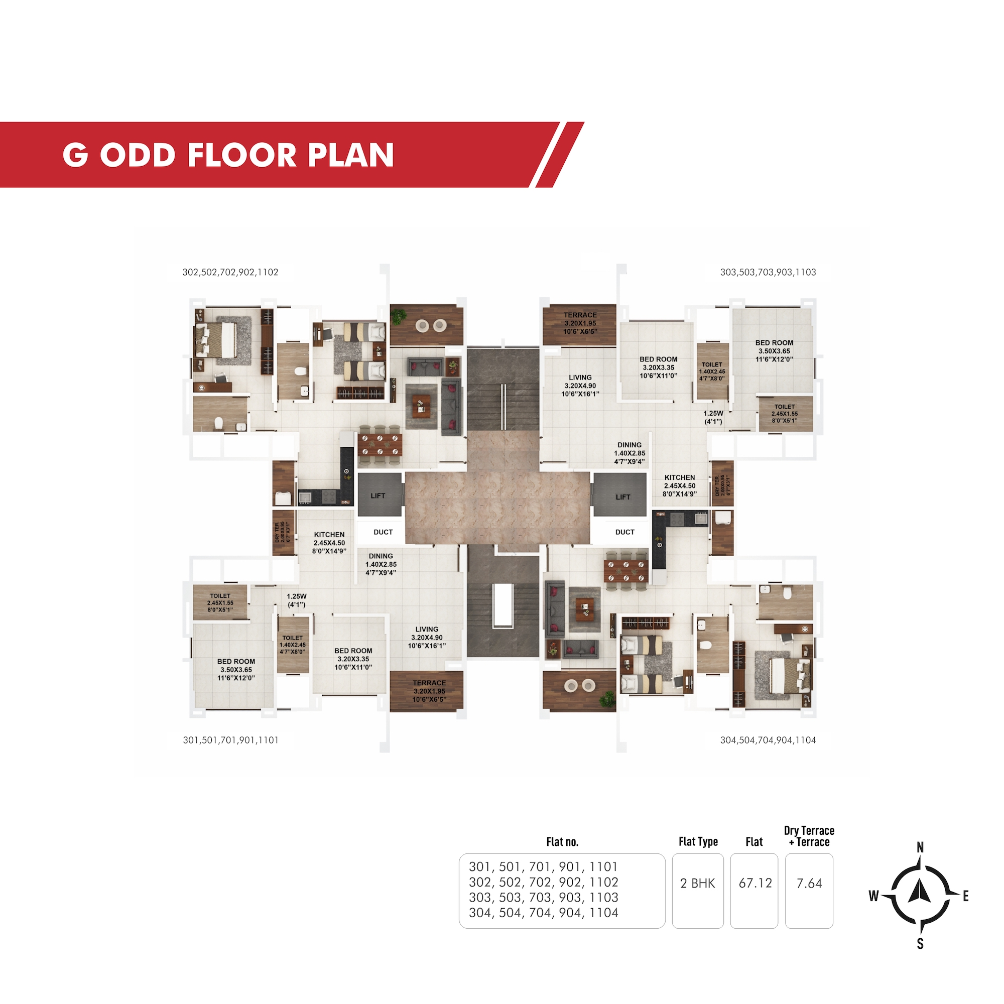 Piccadilly G Odd Floor Plan