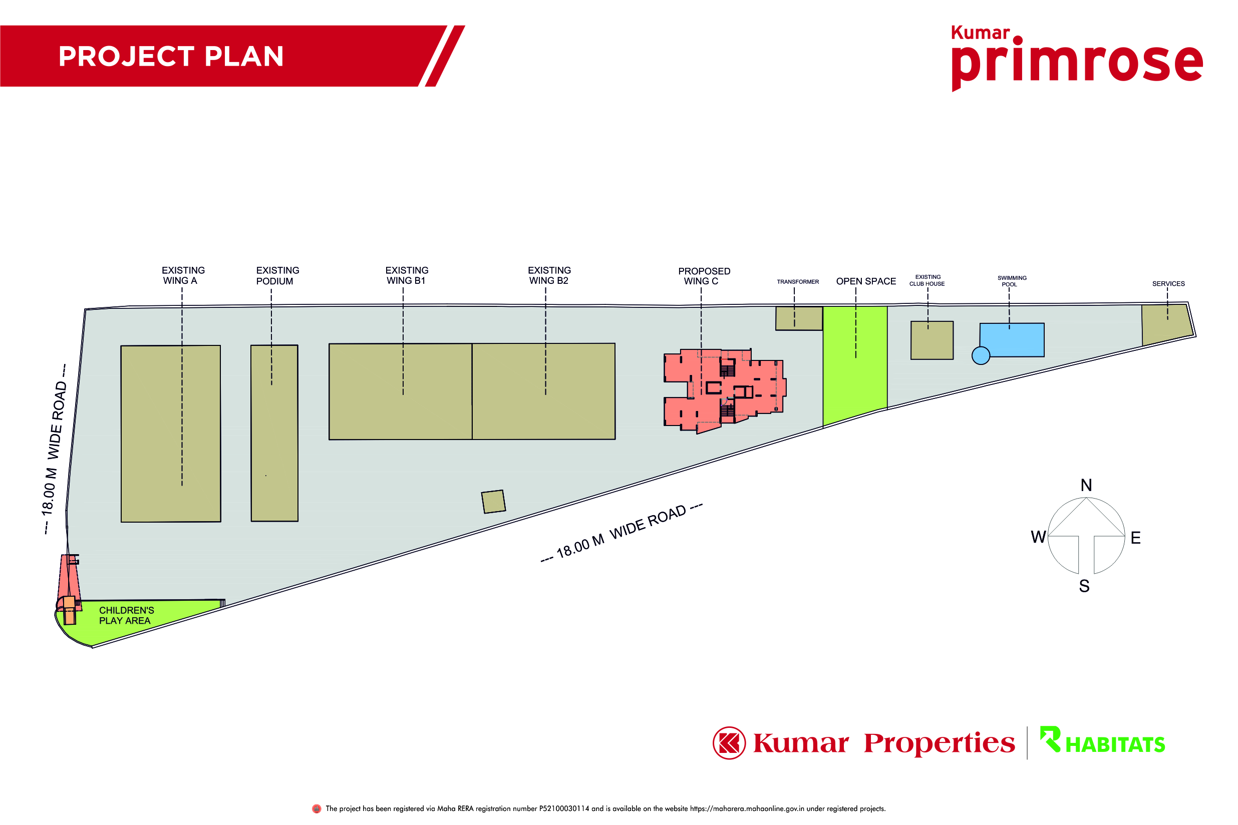 Revised primrose project plan with rera no. 02-09-2021
