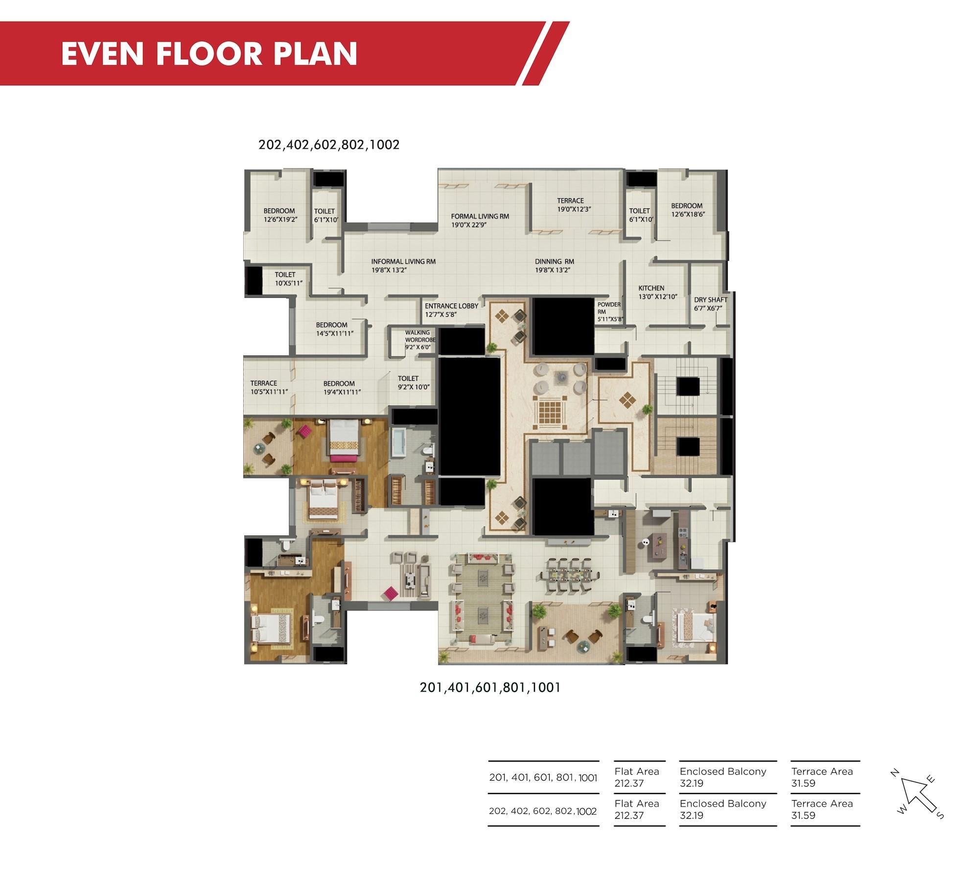 Shiloh Even Floor Plan