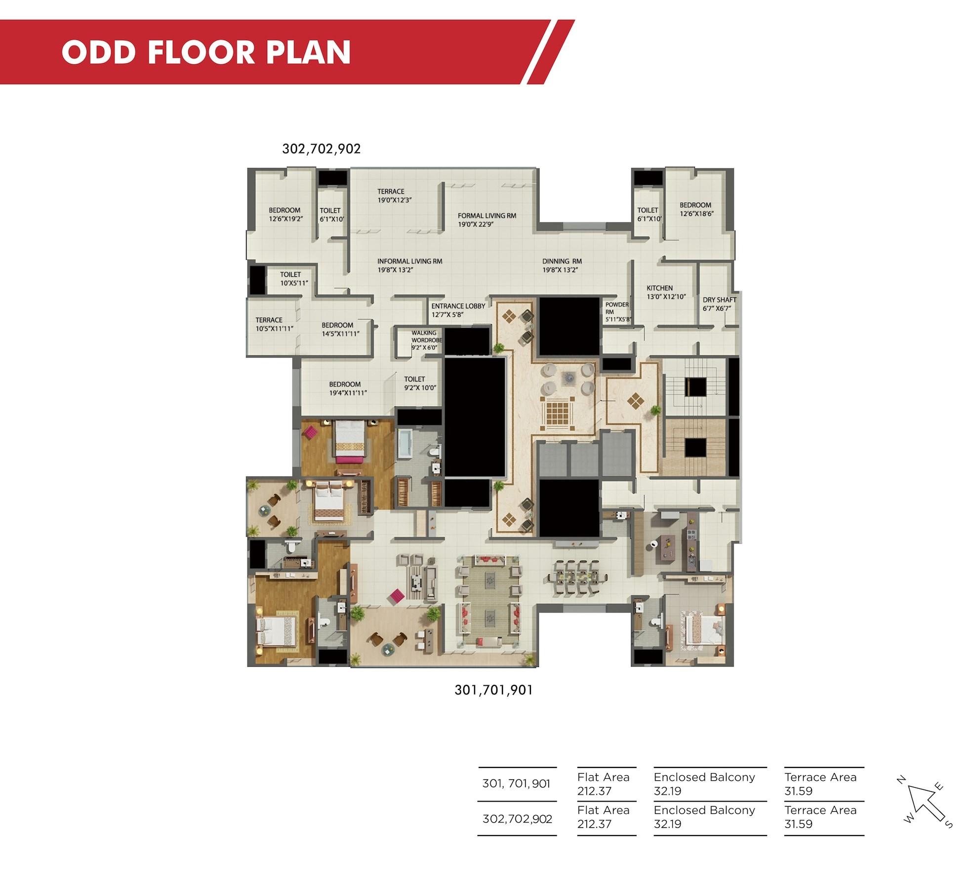 Shiloh Odd Floor Plan